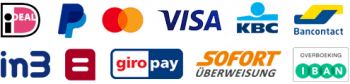 Betaalmethodes Ideal In3 Paypal Bancontact