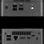 Gigabyte GB-BRR3H-4300 Aansluitingen