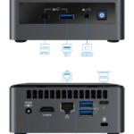 Intel NUC10i5FNH Linux Mini Connections