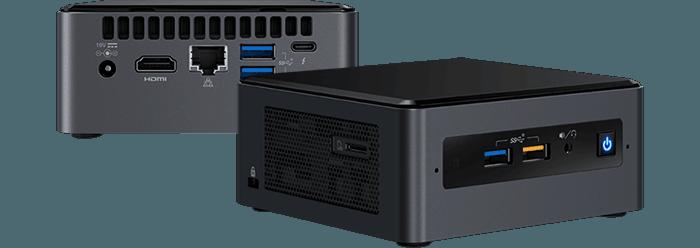 Linux Mini Computer nuc Samenstellen