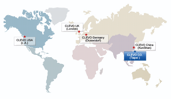 Clevo Service Centers And Locations Worldwide